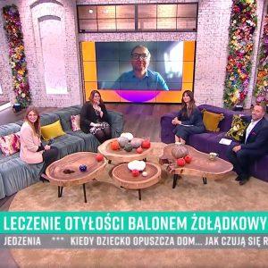 Michał Spychalski balon żołądkowy wywiad pytanie na śniadanie